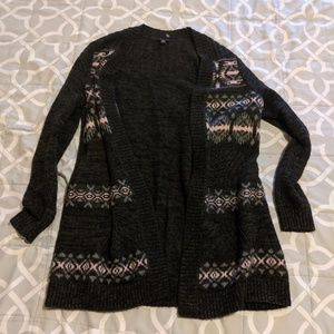 Torrid marled open front cardigan